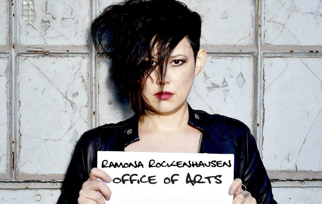 Ramona Rockenhausen - Knast Schild